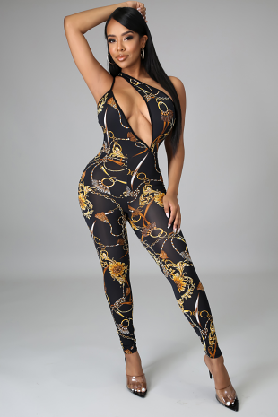 Chained Down Jumpsuit