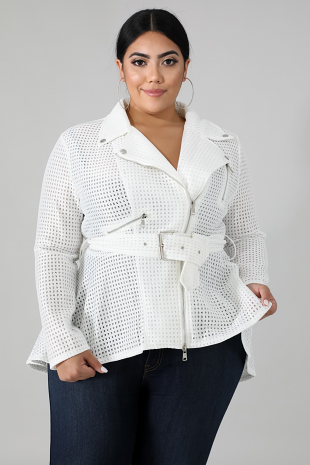 Netted Trench Top