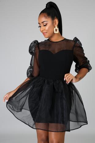 Oh She's Sassy Dress