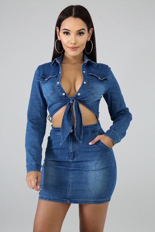 Casey Denim Dress