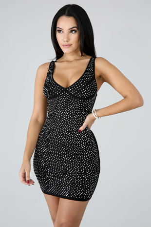 Glam Body Mini Dress