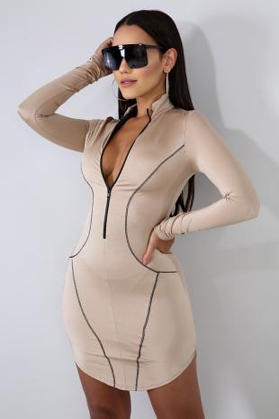 Side Lines Dress