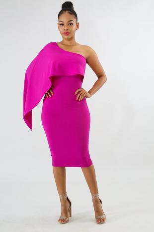 Swing Edgy Body-Con Dress