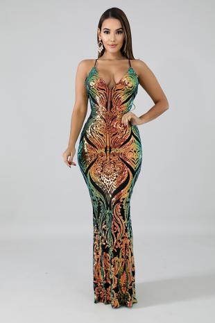 Dazzling Sequin Mermaid Dress