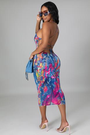 Exotic Oasis  Dress