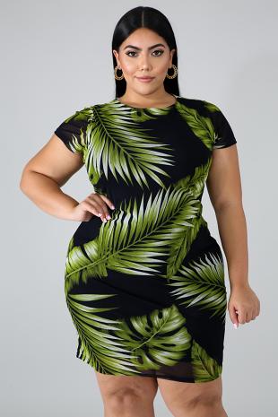 Palms Classic Dress