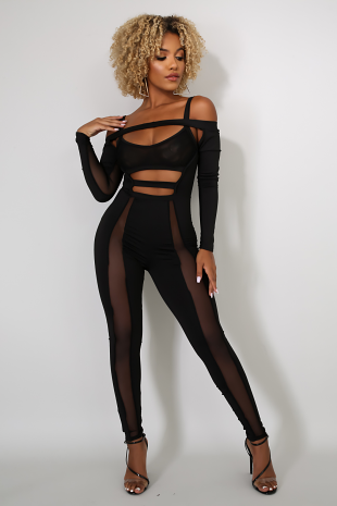 Crossed Out Jumpsuit
