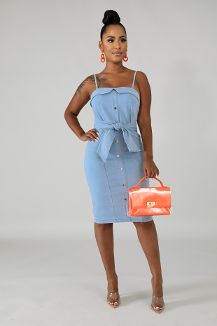 Desire Denim Dress