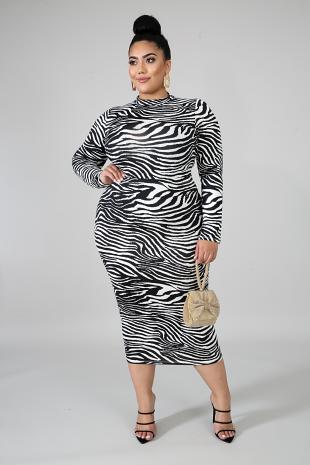Zebra Bodysuit Set