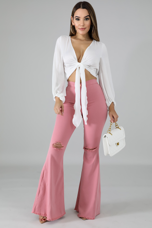 Queen Bee Bell Bottoms Jeans