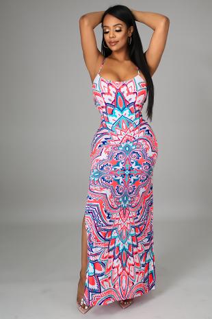 In Coming Tropics Dress