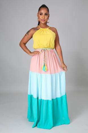 Spring Goddess Dress