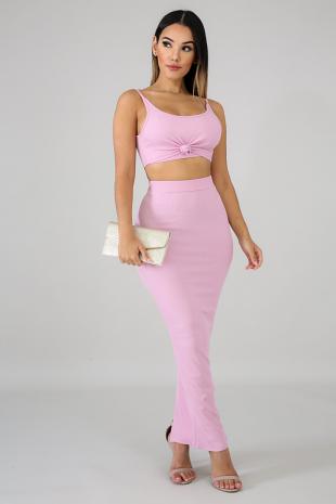 Mermaid Knit Skirt Set