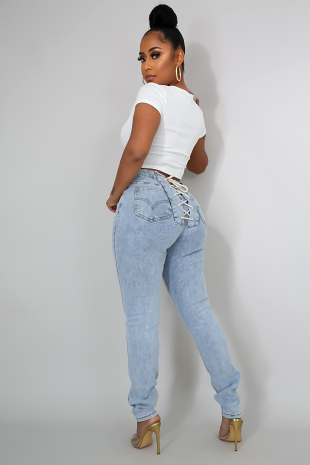 Strings Attached Jeans