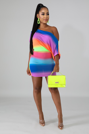 Dolmen Neon Dress