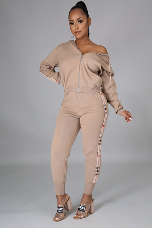 Look Don't Touch Jogger Set