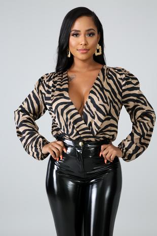 Wild Stripes Bodysuit
