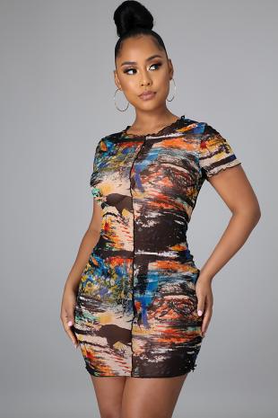 Look Like A Painting Dress
