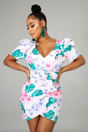 Floral Tease Dress