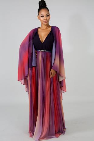 Maria Falls Maxi Dress