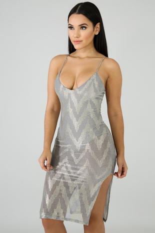 Chevy Shine Body-Con Dress