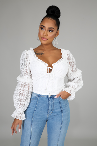 Hooked On Lace Top