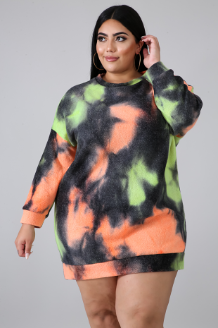 Dolmen Tie Dye Dress