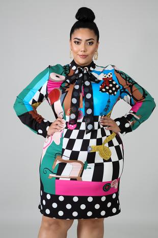 Fashion Body-Con Dress