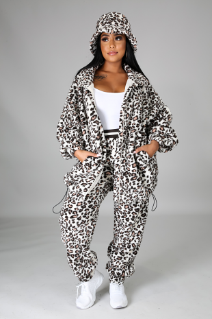 3pc Wild And Comfy Pant Set