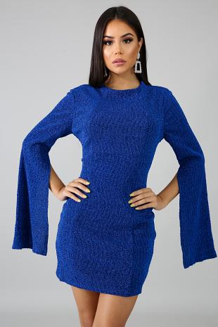 Glam Shine Body-Con Dress