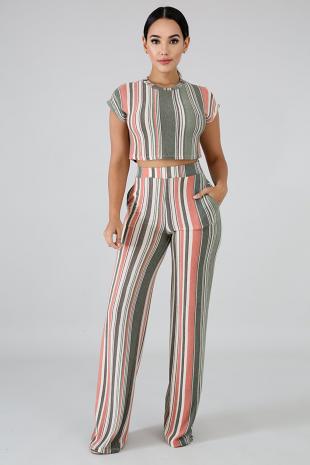 Vintage Stripe Set