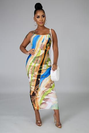 Delightful Midi Dress