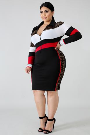Shes Dangerous Body-Con Dress