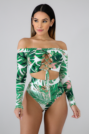 Palm Wild Swimset