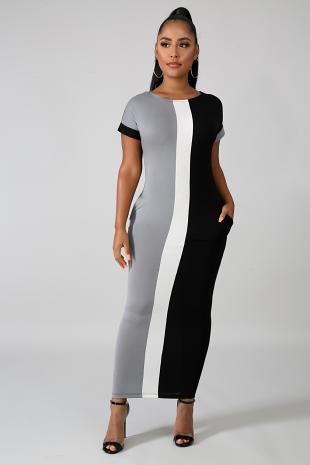 Defined Midi Dress
