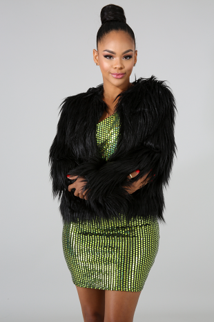 Seduction Fur Coat