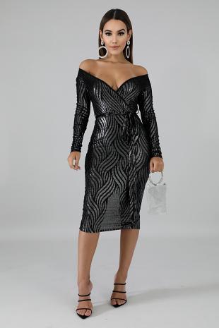 Zebra Stripe Dress