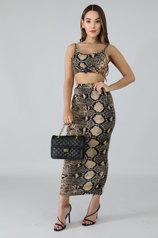 Fierce Midi Skirt Set