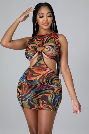 Pop That Thang Dress