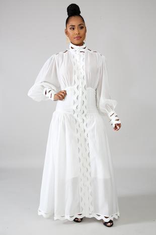 Swirl Breeze Maxi Dress