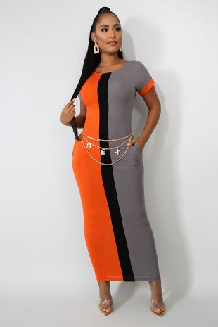 Defined Line Dress