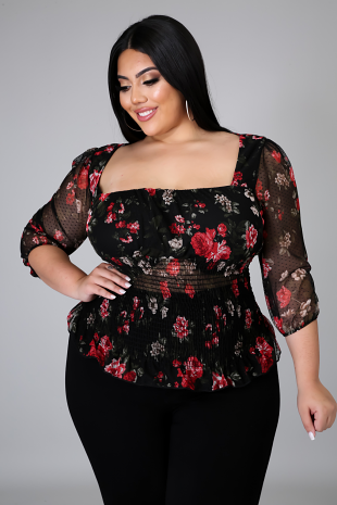 Roses Of You Top