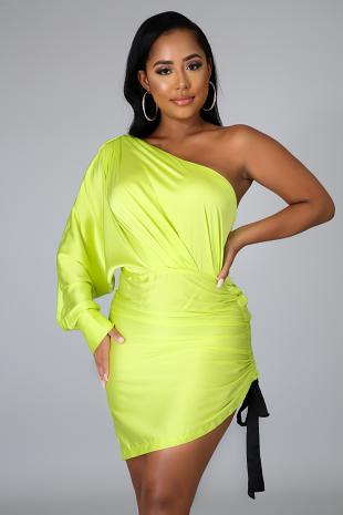 Silky Glow Dress