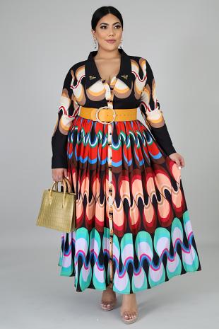 Queen B Maxi Dress