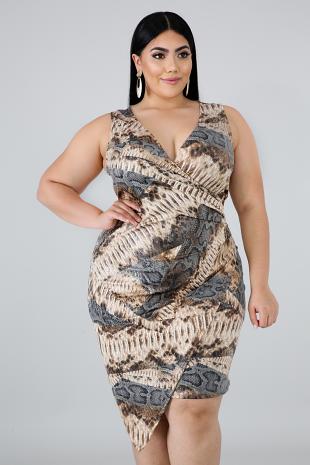 Be Snake Like Dress