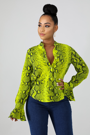 Fierce Blouse
