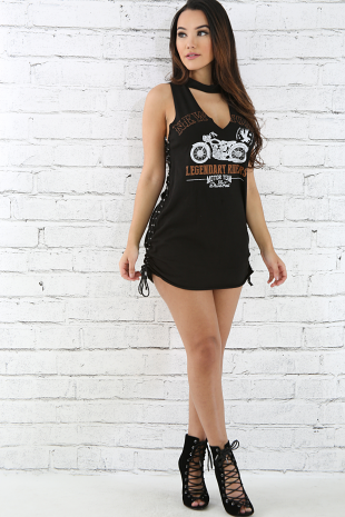 Legendary Riders Corset Dress