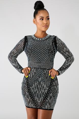 So Obvious Body-Con Dress