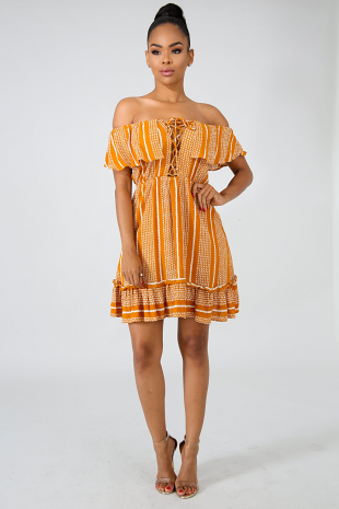 Field Flare Dress