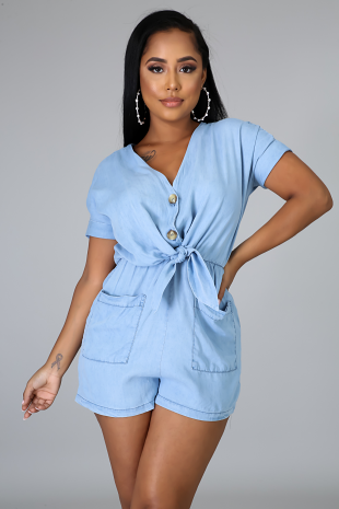 Walk That Way Romper